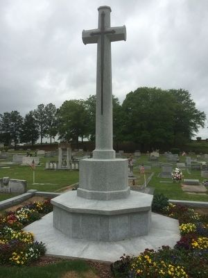 Royal Air Force Memorial Cross image. Click for full size.