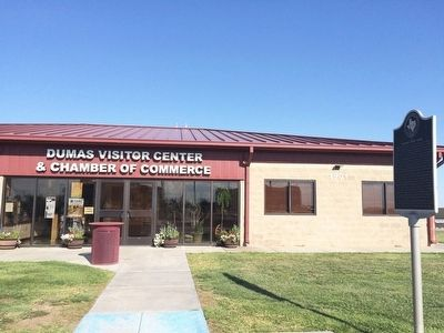 City of Dumas Visitors Center and Chamber of Commerce. image. Click for full size.