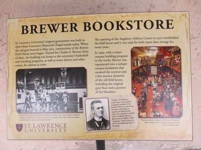 Brewer Bookstore Marker image. Click for full size.