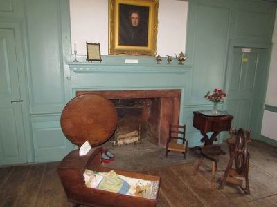 Inside the Van Wyck Homestead image. Click for full size.