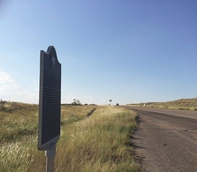 Looking north on US Highway 87. image. Click for full size.