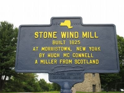 Stone Wind Mill Marker image. Click for full size.
