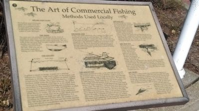The Art of Commercial Fishing Marker image. Click for full size.