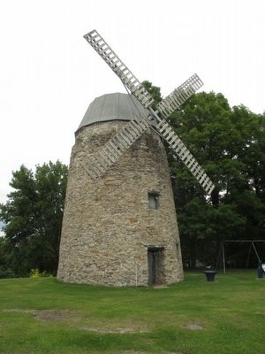 Stone Wind Mill image. Click for full size.