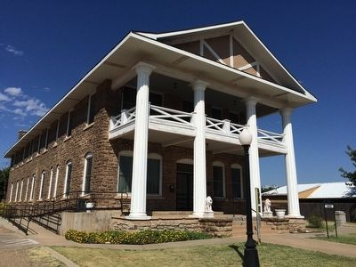 Old Post Sanitarium (Now Garza County Museum) image. Click for full size.