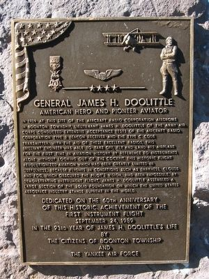 General James H. Doolittle Marker image. Click for full size.