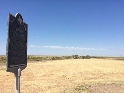 Marker looking north towards rest area & Highway 84. image. Click for full size.