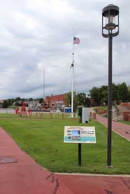 Escanaba Memorial Park Marker image. Click for full size.