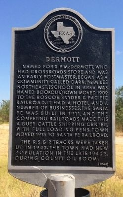 Dermott Marker image. Click for full size.