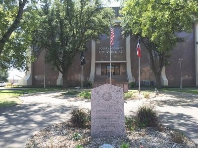 Scurry County Courthouse image. Click for full size.