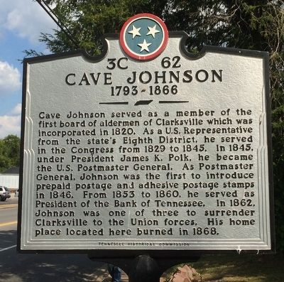 Cave Johnson Marker image. Click for full size.