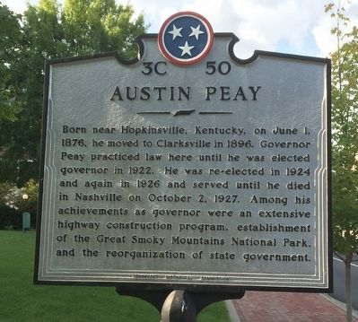 Austin Peay Marker image. Click for full size.