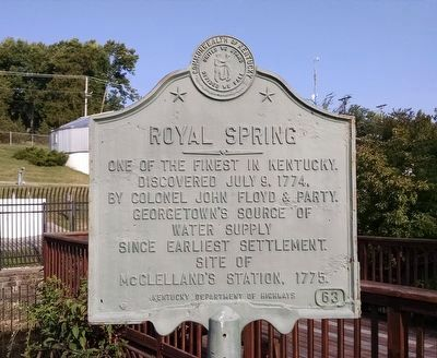Royal Spring Marker image. Click for full size.