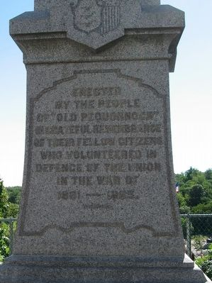 Boonton Civil War Monument image. Click for full size.