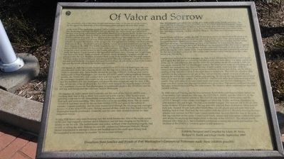 Of Valor and Sorrow Marker image. Click for full size.