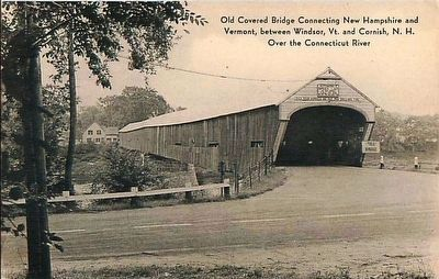 <i>Old Covered Bridge...</i> image. Click for full size.