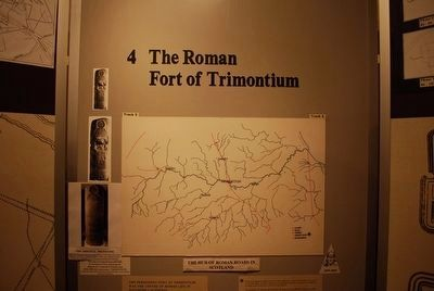 The Roman Fort of Trimontium image. Click for full size.