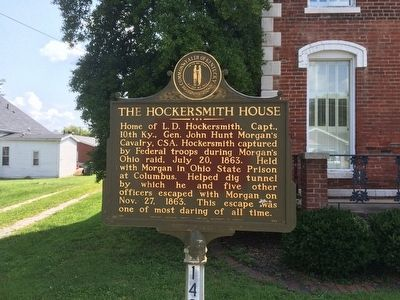 The Hockersmith House Marker image. Click for full size.
