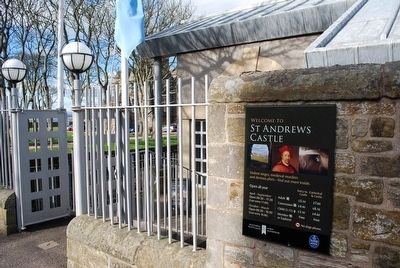 St Andrews Castle Visitor Centre Entrance image. Click for full size.