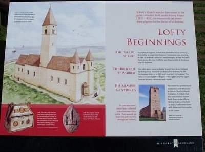 Lofty Beginnings Marker image. Click for full size.