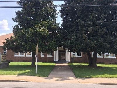 Former Rosenwald High School image. Click for full size.