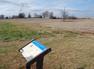 The Battle of Spring Hill Marker & Rippavilla image. Click for full size.