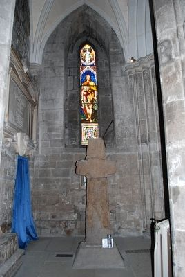 Barochan Cross at Paisley Abbey image. Click for full size.