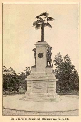 South Carolina State Monument image. Click for full size.
