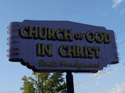 Church of God in Christ Sign image. Click for full size.