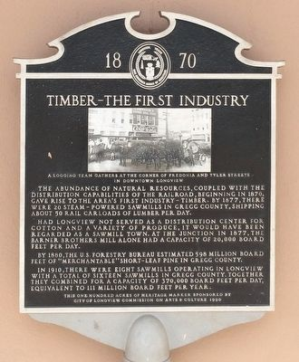 Timber the First Industry Marker image. Click for full size.