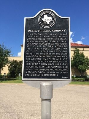 Delta Drilling Company Marker image. Click for full size.