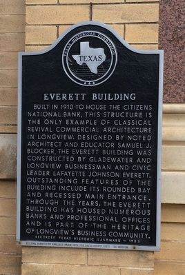 Everett Building Marker image. Click for full size.