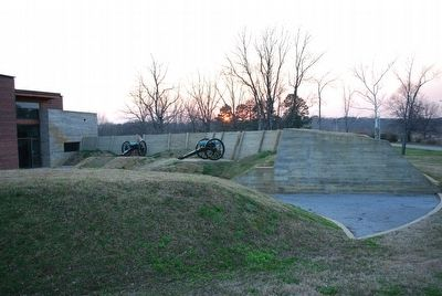 Corinth Civil War Interpretive Center image. Click for full size.