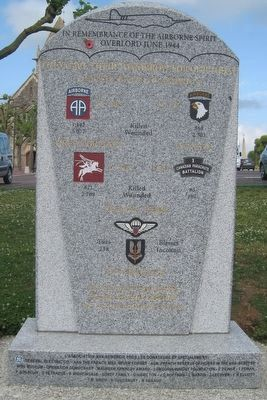 In Remembrance of the Airborne Spirit Marker image. Click for full size.
