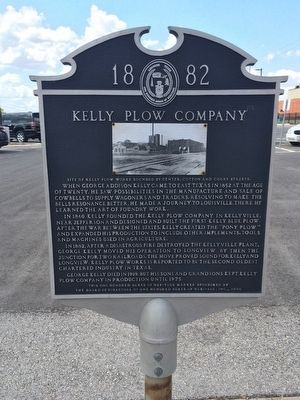 Kelly Plow Company Marker image. Click for full size.