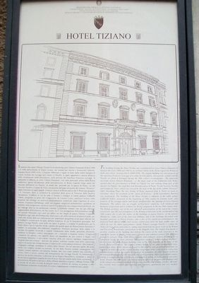 Hotel Tiziano Marker image. Click for full size.