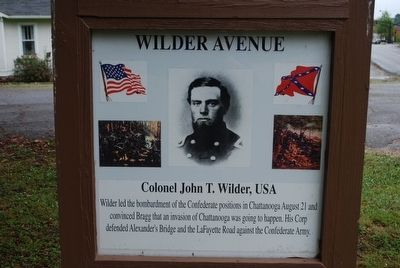 Wilder Avenue Marker image. Click for full size.