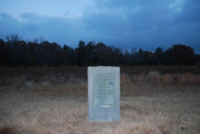 First Shots of the Battle of Brice's Crossroads Marker image. Click for full size.