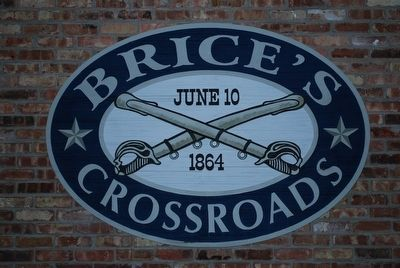 Battle of Brice's Crossroads Logo image. Click for full size.