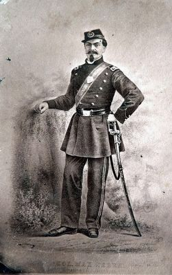 Brig. General Max Weber (1824–1901) image. Click for full size.