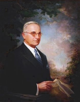 Harry S. Truman image. Click for full size.
