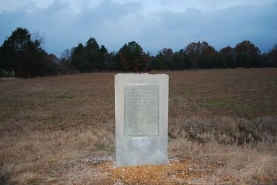 Advance Forces of General Forrest Marker image, Touch for more information