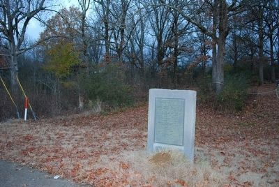 Confederate's Second Battle Line Marker image. Click for full size.