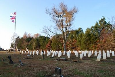 Brice's Cross Roads Confederate Cemetery image. Click for full size.
