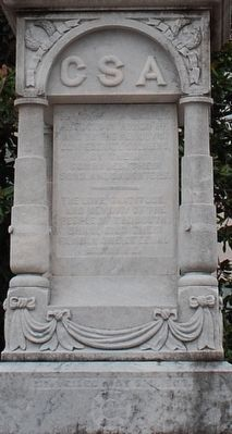 Tupelo Confederate Soldiers Monument image. Click for full size.