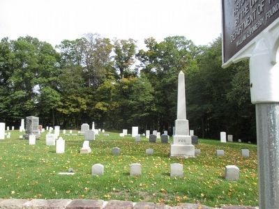 Jefferson Street Cemetery & Marker image. Click for full size.