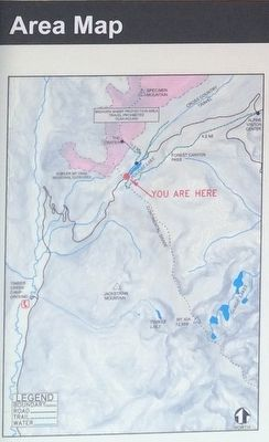 Area map of Continental Divide image. Click for full size.
