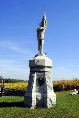 132nd Pennsylvania Volunteer Infantry Monument image. Click for full size.
