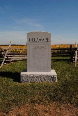 2nd Delaware Marker image. Click for full size.