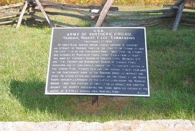 Army of Northern Virginia Marker image. Click for full size.